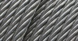 Corde d'acier galvanisée