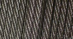 Corde d'acier inoxydable