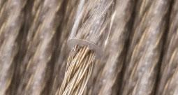 Corde d'acier en laiton avec revêtement en PVC